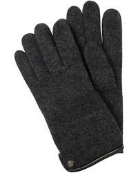 Roeckl Sports Handschuhe aus Schurwolle - Grau
