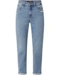Mavi Mom Fit Jeans mit Stretch-Anteil Modell 'Star' - Blau