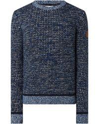 Tom Tailor - Pullover mit strukturiertem Muster - Lyst