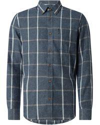 Ben Sherman Regular Fit Freizeithemd aus Baumwolle - Blau