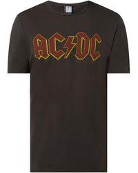 Amplified T-Shirt mit AC/DC-Print - Grau