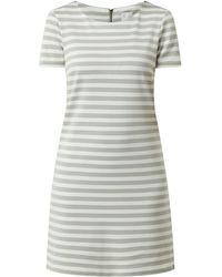 Vila Jerseykleid mit Streifenmuster Modell 'Tinny' - Grün