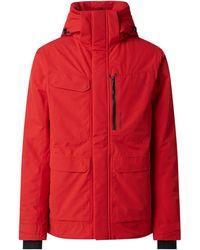 Didriksons Jacke mit Wattierung Modell 'Sebastian' - wasserdicht - Rot