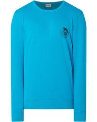 DIESEL - Sweatshirt mit Logo-Print - Lyst