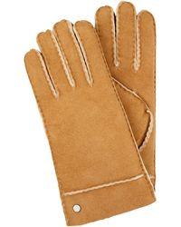Roeckl Sports Handschuhe aus Lammshearling - Braun