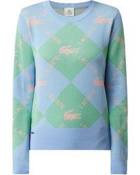 Lacoste Pullover aus Baumwolle - Blau