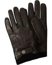 eem-fashion Handschuhe aus Leder - Schwarz
