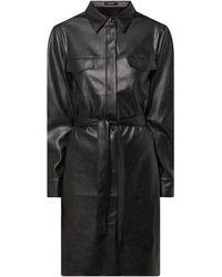Opus - Kleid in Leder-Optik Modell 'Weloni' - Lyst