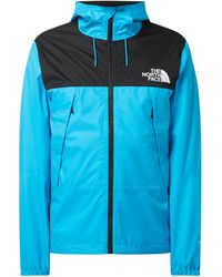 The North Face Windbreaker mit Kapuze - Blau