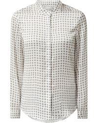 Cinque Bluse mit Polka Dots Modell 'Ciprosi' - Weiß