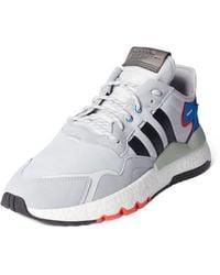 adidas Originals Sneakers Met Labelstrepen - Grijs