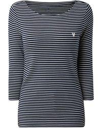 Tom Tailor - Shirt mit Streifenmuster - Lyst