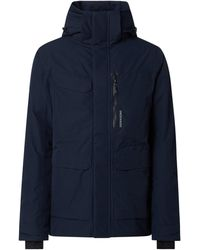 Didriksons Jacke mit Wattierung Modell 'Sebastian' - wasserdicht - Blau
