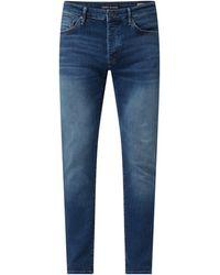 Mavi Slim Skinny Fit Jeans mit Strech-Anteil Modell 'Yves' - Blau