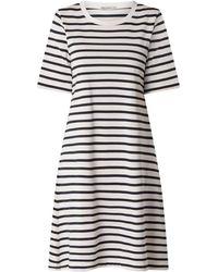 DRYKORN Kleid aus Baumwolle Modell 'Erli' - Blau