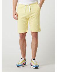 Tom Tailor Sweatshorts aus Baumwolle - Gelb