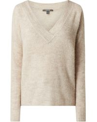 Esprit Collection Pullover mit Alpaka-Anteil - Natur