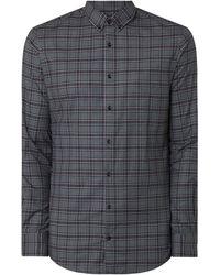 s.Oliver BLACK LABEL Slim Fit Business-Hemd mit Stretch-Anteil Modell 'Sopure' - Lila