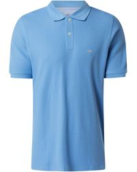 Fynch-Hatton Poloshirt aus Supima®-Baumwolle - Blau