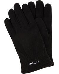 Barbour Handschuhe aus Fleece Modell 'Coalford' - Schwarz