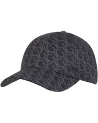 Guess Cap mit Logo-Muster - Schwarz
