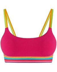 Banana Moon Bikinitop In Bustiermodel, Model 'rolo Colorib' - Roze