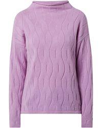maerz muenchen Pullover aus Schurwolle - Lila