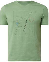 ARMEDANGELS T-Shirt aus Bio-Baumwolle Modell 'Jaames' - Grün