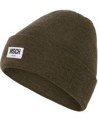 Moss Copenhagen - Beanie mit Logo-Aufnäher Modell 'Mojo' - Lyst