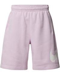 Nike Sweatshorts mit elastischem Bund - Lila