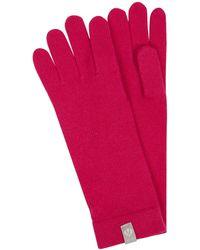 Fraas Handschuhe aus Kaschmir - Pink