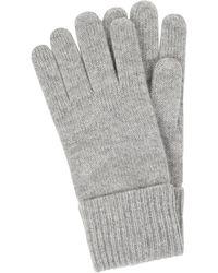 Christian Berg Women Handschoenen Van Kasjmier - Grijs