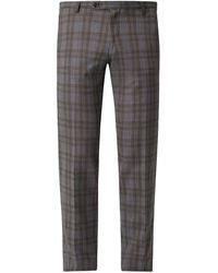 CG – Club of Gents Slim Fit Anzughose mit Stretch-Anteil Modell 'Cole' - Grau