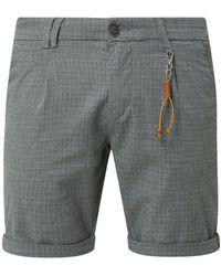 Jack & Jones - Regular Fit Chino-Shorts mit Streifenmuster Modell 'Milton' - Lyst