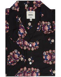 Redefined Rebel - Comfort Fit Freizeithemd aus Viskose Modell 'Luke' - Lyst