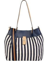 Tom Tailor Handtasche mit Wendefunktion - Blau