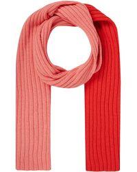 UNIO Schal mit Kaschmir-Anteil - Rot