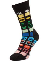 Happy Socks Socken mit Disney©-Print - Schwarz