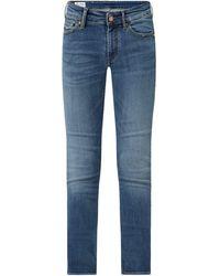 Kings Of Indigo Slim Straight Fit Jeans mit Stretch-Anteil Modell 'Emi' - Blau