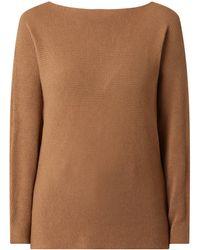 Esprit Collection Pullover mit angeschnittenen Ärmeln - Braun