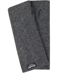 eem-fashion Stulpen aus Wolle - Grau