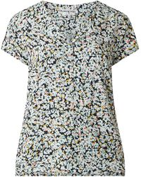 Tom Tailor Blusenshirt aus Viskose - Blau