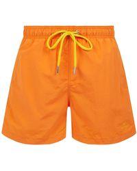 GANT Badehose mit Eingrifftaschen - Orange