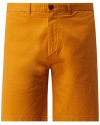 Scotch & Soda Chino-Shorts mit Stretch-Anteil Modell 'Stuart' - Mettallic