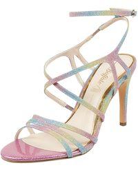 Buffalo Sandalette mit Glitter-Effekt Modell 'Ravyn' - Pink