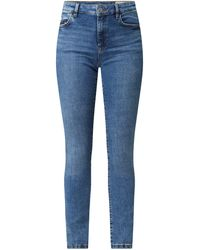 Edc By Esprit Skinny Fit Jeans mit Stretch-Anteil - Blau