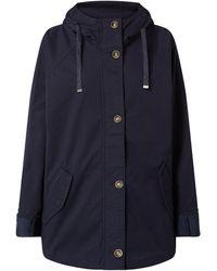 Tom Tailor Jacke mit Kapuze - Blau