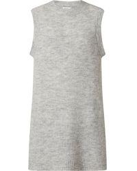ONLY Pullunder mit Woll-Anteil Modell 'Karinna' - Grau