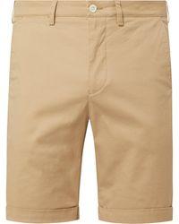 GANT Regular Fit Chino-Shorts mit Stretch-Anteil - Natur