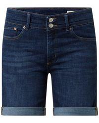 s.Oliver RED LABEL Jeansshorts mit Stretch-Anteil - Blau